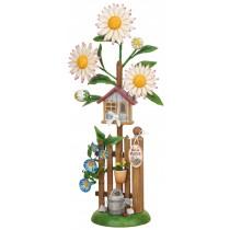 Hubrig Volkskunst - Minis - Blumeninsel Edelweißmargerite 24cm