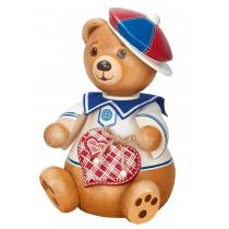 Hubrig Volkskunst - Hubiduu - Teddy mit Herz - Ben, Mein bester Freund