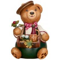 Hubrig Volkskunst - Hubiduu - Teddy mit Herz - Weinliebhaber
