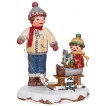 Hubrig Volkskunst - Winterkinder - Beste Freunde