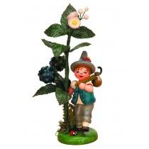 Hubrig Volkskunst - Herbstkinder - Brombeere 13cm