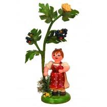 Hubrig Volkskunst - Herbstkinder - Holunder 13cm