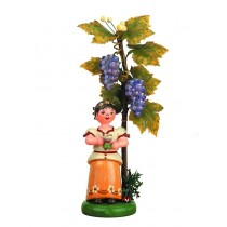 Hubrig Volkskunst - Herbstkinder - Wein 13cm