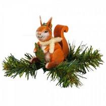 Hubrig Volkskunst - Baumclipser - Eichhörnchen