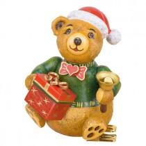 Hubrig Volkskunst - Baumbehang und Baumclipser - Teddy Weihnachtsbärli