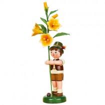 Hubrig - Blumenkinder - Blumenjunge mit Lilie 24cm
