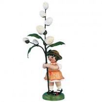 Hubrig - Blumenkinder - Blumenmädchen mit Maikätzchen 7cm