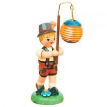 Hubrig - Lampionkinder - Junge mit Kugellampion 8cm