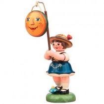 Hubrig - Lampionkinder - Mädchen mit Mond 8cm