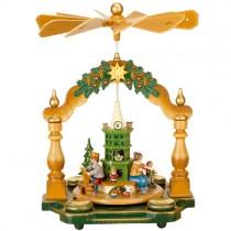 Hubrig - Pyramide - Großmutters Weihnachtsstube