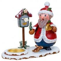 Hubrig Volkskunst - Räuchermänner und Räucherwichtel - Weihnachtswichtel mit Teelicht