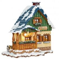 Hubrig - Winterkinder - Forsthaus - elektrisch beleuchtbar
