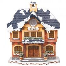 Hubrig - Winterkinder - Schule - elektrisch beleuchtbar