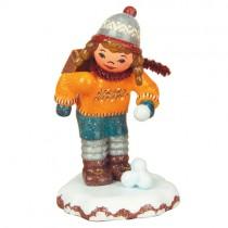 Hubrig - Winterkinder - Schulmädchen