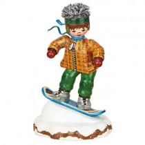 Hubrig - Winterkinder - Snowboardfahrer
