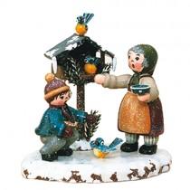 Hubrig - Winterkinder - Vogelfütterung