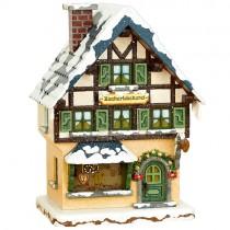 Hubrig - Winterkinder -Zuckerbäckerei - elektrisch beleuchtbar