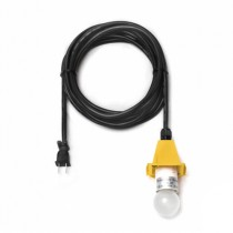 5 m Kabel USA für gelbe Herrnhuter Sterne aus Kunststoff (A4/A7)