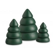 Köhler - Baumset 1, grüne Bäume