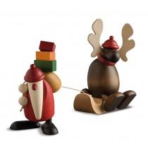 Köhler - Weihnachtsmann mit Faultier