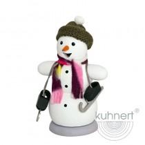 Kuhnert - Schneemann mit Schlittschuh