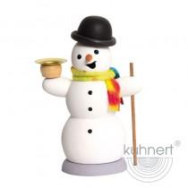 Kuhnert - Schneemann mit Kerze