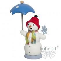 Kuhnert - Schneemann mit Schirm