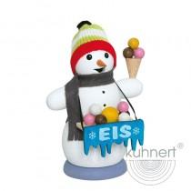 Kuhnert - Schneemann als Eisverkäufer