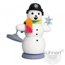 Kuhnert - Schneemann mit Eisstock
