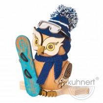 Kuhnert - Eule mit Snowboard