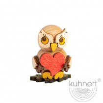 Kuhnert - Eulenkind mit Herz