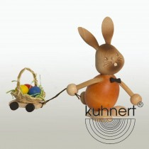 Kuhnert - Stupsi Hase mit Eierwagen