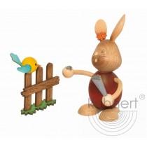 Kuhnert - Stupsi Hase mit Vogel