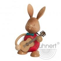 Kuhnert - Stupsi Hase mit Gitarre