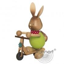 Kuhnert - Stupsi Hase auf Roller