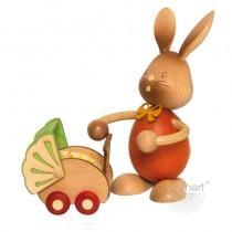 Kuhnert - Stupsi Hase mit Kinderwagen