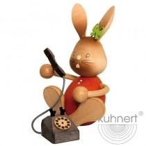 Kuhnert - Stupsi Hase mit Telefon