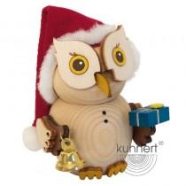 Kuhnert - MINI Eule Weihnachtsmann