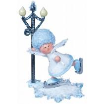 Kuhnert - Schneeflöckchen mit Schlittschuhfahrer