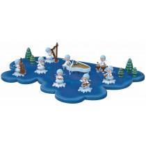 Kuhnert - Wolke für Schneeflöckchen 1 Etage groß (Im Lieferumfang ist nur die Wolke enthalten - keine Figuren)
