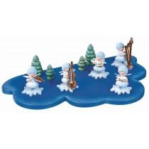 Kuhnert - Wolke für Schneeflöckchen 1 Etage mittel (Im Lieferumfang ist nur die Wolke enthalten - keine Figuren)