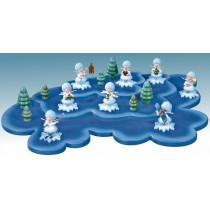 Kuhnert - Wolke für Schneeflöckchen 3 Etagen (Im Lieferumfang ist nur die Wolke enthalten - keine Figuren)