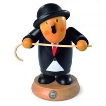 """Müller Räuchermann, Müllerchen """"Charlie Chaplin"""", 13x16cm"""