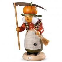 "Müller Räuchermann, groß ""Halloween Hexe mit Kürbis"", 14x25cm"