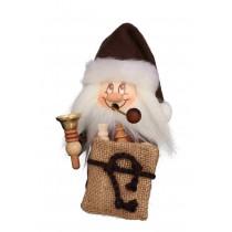 Christian Ulbricht - Räuchermann Miniwichtel Weihnachtsmann mit Glocke