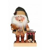 Christian Ulbricht - Räuchermann Wichtel Weihnachtsmann am Kamin