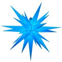 Original Herrnhuter Stern für außen ø ca. 68 cm blau (A7)