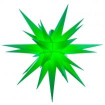Original Herrnhuter Stern für außen ø ca. 68 cm grün (A7)