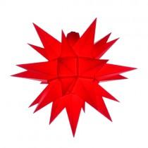 Original Herrnhuter Stern für außen ø ca. 40 cm rot (A4)
