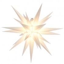 Original Herrnhuter Stern für außen ø ca. 68 cm weiß (A7)